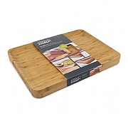 Joseph Joseph Cut & Carve Bamboo Chopping Board