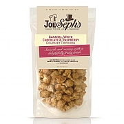 Joe & Seph's Caramel White Chocolate & Raspberry Popcorn 80g