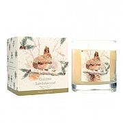 Wax Lyrical Golden Sandalwood Large Glass Candle