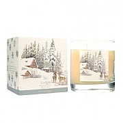 Wax Lyrical Ski Lodge Large Glass Candle