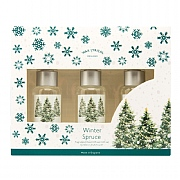 Wax Lyrical Winter Spruce Reed Diffuser Gift Set 3 x 50ml