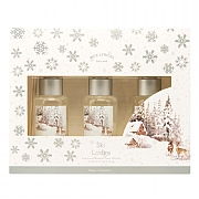Wax Lyrical Ski Lodge Reed Diffuser Gift Set 3 x 50ml