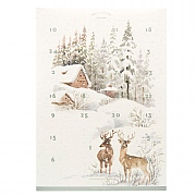 Wax Lyrical Ski Lodge Fragranced Candle Advent Calendar