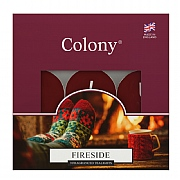 Colony Fireside Tealights Box of 9