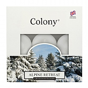 Colony Alpine Retreat Tealights Box of 9