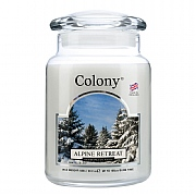 Colony Alpine Retreat Large Candle Jar