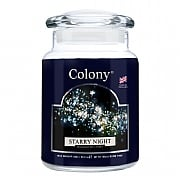 Colony Starry Night Large Candle Jar