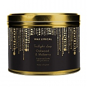 Wax Lyrical Oakwood & Mulberry Candle Tin