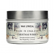 Wax Lyrical Christmas Wishes Candle Tin