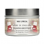 Wax Lyrical Season's Greetings Candle Tin