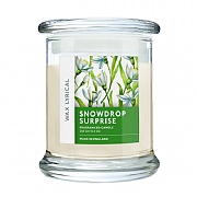 Wax Lyrical Snowdrop Surprise Candle Jar 8.3oz