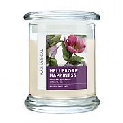 Wax Lyrical Hellebore Happiness Candle Jar 3oz