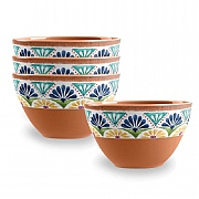 Epicurean Rio Medallion Dipping Bowls - Set of 4