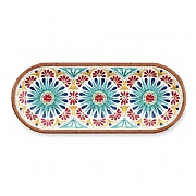 Epicurean Rio Medallion Oval Appetiser Plate
