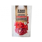 Black Liquorice Company Soft Strawberry Liquorice 180g