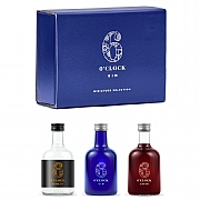 6 O'Clock Gin Miniature Trio Gift Set - 3 x 5cl
