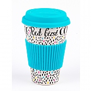 Cambridge Coffee First Bamboo Eco Travel Mug