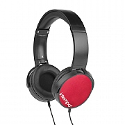 Intempo Dynamic Headphones - Red