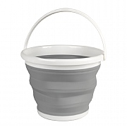 Beldray Collapsible Bucket 10 Litre - Grey