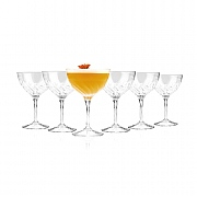 RCR Crystal Fluente Champagne Cocktail Glass - 6 Pack