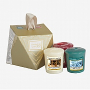 Yankee Candle Holiday Sparkle 3 Votive Gift Set