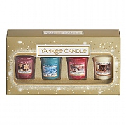 Yankee Candle Holiday Sparkle 4 Votive Gift Set
