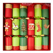 "Robin Reed Toy Chest 12"" Christmas Crackers Pack of 6"
