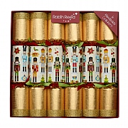 "Robin Reed Traditional Nutcracker 12"" Christmas Crackers"