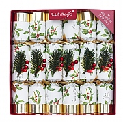 "Robin Reed Henley Dale 12"" Christmas Crackers Pack of 6"