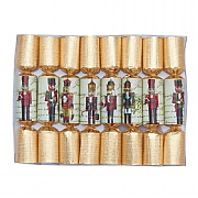 "Robin Reed Nutcracker 6"" Christmas Cracker Pack of 8"