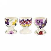 Emma Bridgewater Wallflower Set Of 3 Egg Cups