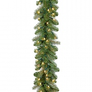 "9ft x 12"" Pre-Lit Bayberry Spruce Garland"