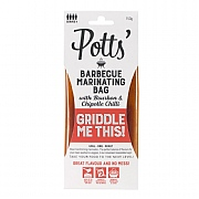 Potts Bourbon & Chipotle Chilli BBQ Marinating Bag 150g