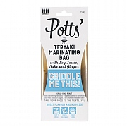 Potts Teryaki Marinating Bag 150g