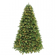7ft Pre-Lit Chester Fir Artificial Christmas Tree