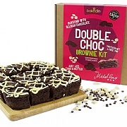 Bakedin Double Chocolate Brownie Kit 655g