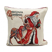 Peggy Wilkins Rudolph Christmas Complete Cushion
