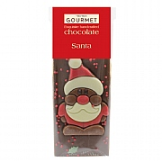 Bon Bon's Gourmet Chocolate Santa Bar 50g