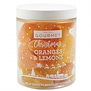 Bon Bon's Gourmet Orange & Lemon Jelly Fruits 185g
