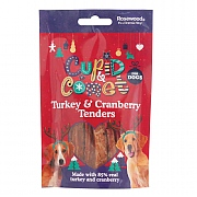 Rosewood Turkey & Cranberry Tenders For Dogs 90g