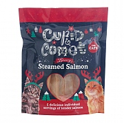 Rosewood Luxury Steamed Salmon Tenders for Cats 5 Pack 100g