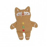 Grumpy Cat Knit Gingerbread Cat Toy