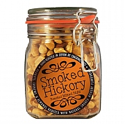 Cracking Nuts Smoked Hickory Mixed Nuts Jar 1kg