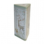 Grandma Wild's Embossed Stag In A Wood Biscuit Tin 150g