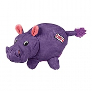 Kong Phatz Hippo Dog Toy - Medium