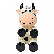 Kong Wiggi Cow Dog Toy - Small
