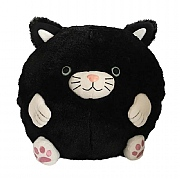Cozy Time Giant Black Cat Handwarmer