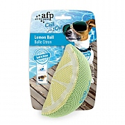 All For Paws Chill Out Lemon Slice Cooling Dog Toy