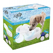 All For Paws Chill Out Ice Track Thirst Cruncher Dog Bowl