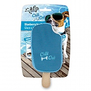 All For Paws Chill Out Blueberry Ice Cream Cooling Dog Toy